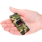8 Million Volts Rechargeable Ultra Mini Camo Stun Gun With LED Light