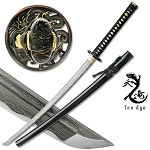 Masahiro Ancient Warrior Folded  Damascus Blade Katana