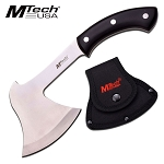 Mtech USA 11 Inches Axe Hatchet - Stain Finish Blade with PakkaWood Handle