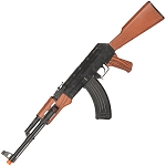 AK47 Spring Action Airsoft Tactical Rifle Gun with Laser