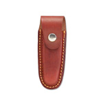 Red/Brown Leather Belt Pouch Sheath for 4