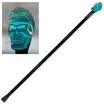Flying Ace Skull Head Walking Stick Cane Length 35 Inches
