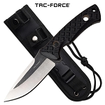 Tactical Combat Knife Fixed Blade Full Tang Black G10 Handle With Sheath