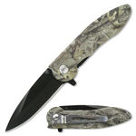 Camouflage Pocket Knife From Liner lock For The Undercover Survivalist