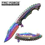 Spring Activated Knife: The Visually Beautiful Knife For Both Hunter And Collector Alike