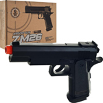 ZM26 1911 FPS-245 Metal Body Spring Airsoft Handgun Pistol