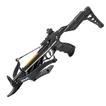 80lb Self Cocking Pistol GRIP Black CrossBow with Adjustable Stock