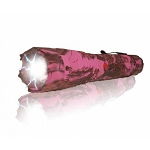 ELITE FORCE Stun Gun 10 Million Volt Rechargeable LED Flashlight Pink Camo