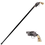 Billy the Kid Revolver Gun Handle Gentleman's Walking Stick