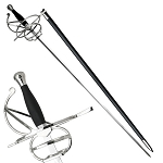 Medieval Renaissance Leather Hilt Rapier Sword