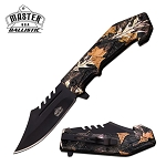 4.75 Inch Closed Master USA Camo Tactical and Rescue Spring Assisted Knife