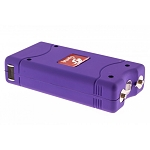Purple Max Power 10 Million Volt Stun Gun Rechargeable LED Light Self Defense
