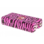 Pink Zebra Max Power 10 Million Volt Stun Gun Rechargeable LED Light