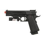 P2002B FPS-140 Spring Airsoft Full Size Pistol with Laser 9