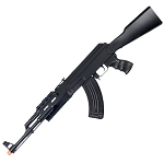 AK47 Spring Loaded Airsoft Rifle - Tactical Fashlight & Laser