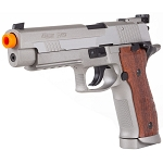 Sig Sauer P226 X-5 CO2 Full Metal Gas BlowBack Pistol Stainless AirSoft Gun