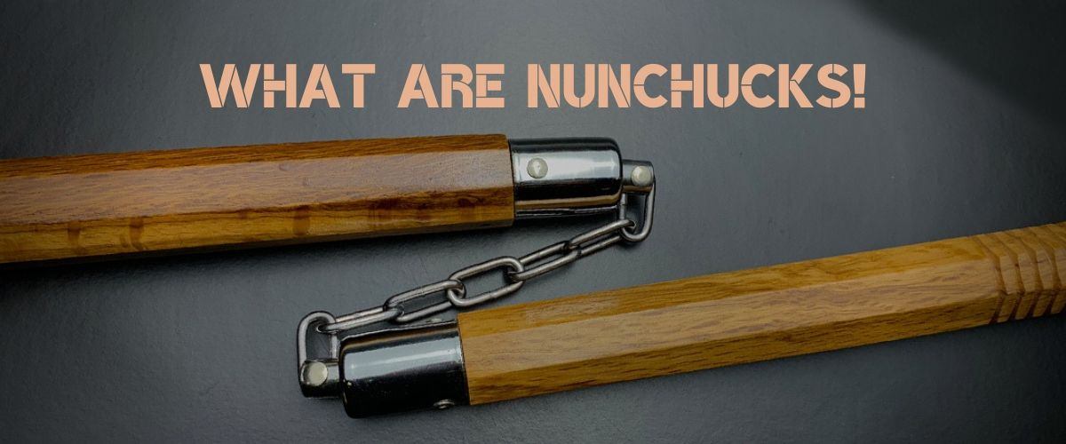 What are nunchucks