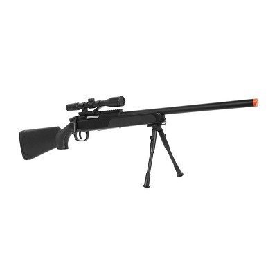 415 FPS Airsoft Bolt Action Sniper Rifle - Scope & Bi-Pod