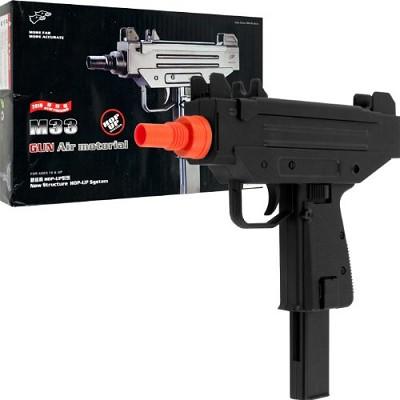 Mini UZI Airsoft Gun Model M33 Extended Mag
