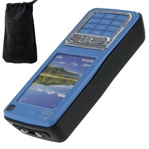 Stun Gun Pretender Cell Phone 1 Million Volt Blue