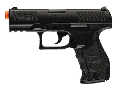 Walther Black PPQ Airsoft Pistol Special Operations Hand Gun 2 Magazines
