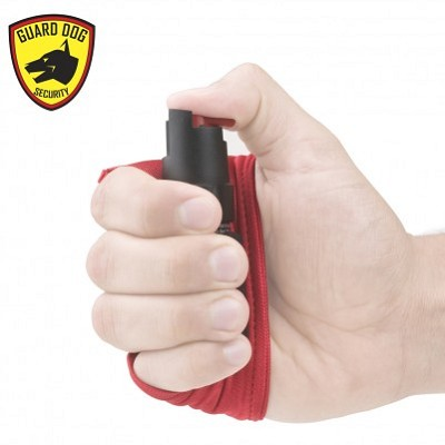 InstaFire Red Personal Defense Pepper Spray 1/2 oz With Activewear Hand Sleeve