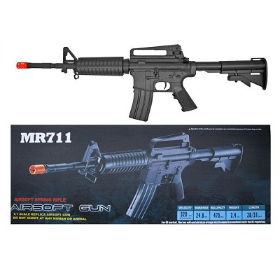 Well MR711 M4 Rifle with FPS 275 Spring Airsoft Gun