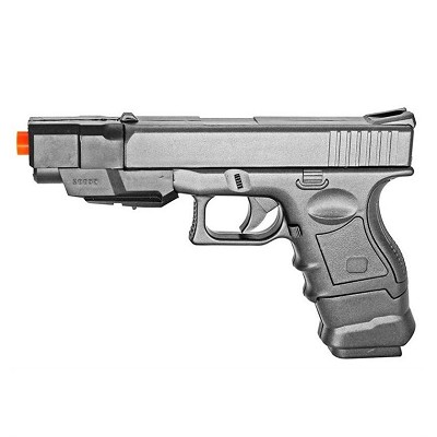 Spring Action FPS-150 Spring Airsoft Pistol with 2 Magazines