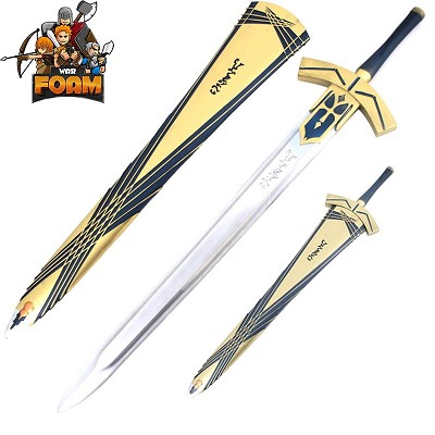 "Fate/Stay Night Saber Lily 47"" WarFoam Cosplay Prop Sword With Scabbard"