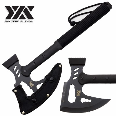 DZS Multi Tool Hammer Axe Utility Tactical Survival Hatchet 17""