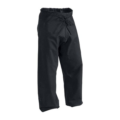 12 oz Heavy Weight Cotton Karate Pants Black Size 7