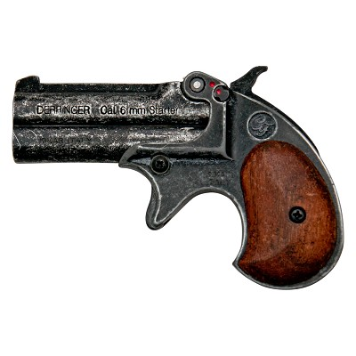 Kimar Old West Replica .22 Caliber Blank Firing Derringer Antiqued Finish