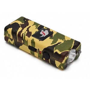 Camo MAX POWER Rechargeable Mini Stun Gun With LED Light