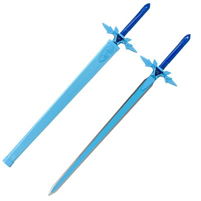SAO Blue Rose Sword Kirito Anime High Carbon Steel Replica