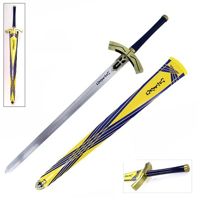 "45"" Huge Fate/Stay Night Saber Lily Excalibur Anime Fantasy Sword"