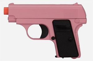 Pink Handgun - Get Comfort and Easy Handling with Airsoft Pistol