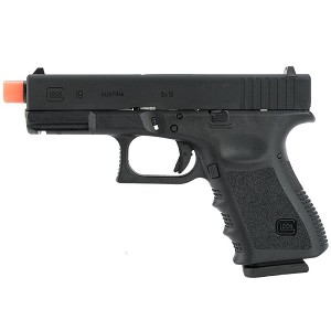 Officially Licensed GLOCK 19 Gas Blowback Airsoft Gun Pistol Metal Slide