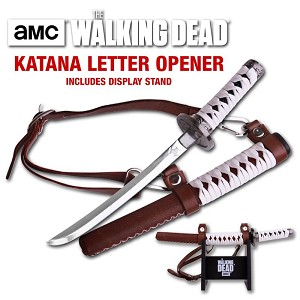 AMC The Walking Dead Michonne Katana Sword Letter Opener