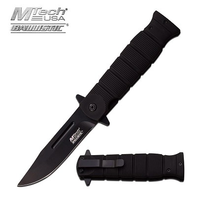 MTech Ballistic Bayonet Dagger Style Military Tactical Spring Assist Knife