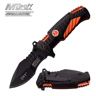 Emt Pocket Knife: Save A Life With This Knife