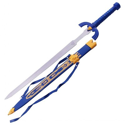 Legend of Zelda Elf Master Ancient Link Knight Warrior Sword Triforce