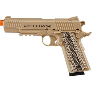 Colt M45A1 CQBP 6mm Caliber Airsoft CO2 Pistol 495 FPS