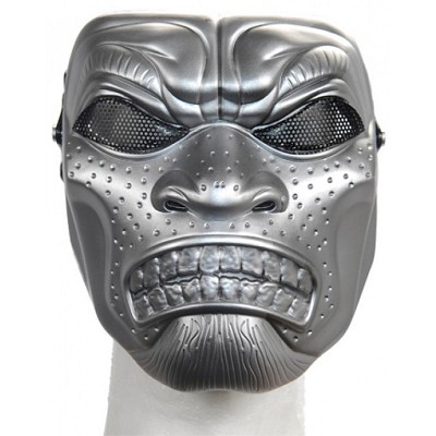 Persian Immortal Full Face Mesh Mask - Silver